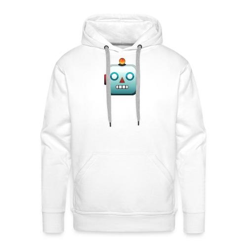 Robot Emoji - Mannen Premium hoodie