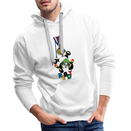 panda Jeux d'été - Sweat-shirt à capuche Premium pour hommes
