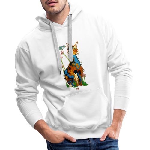 Matou - Sweat-shirt à capuche Premium pour hommes