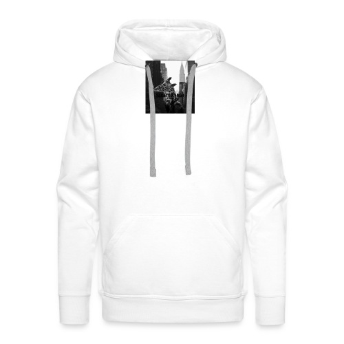 Slightly High Logo - Männer Premium Hoodie