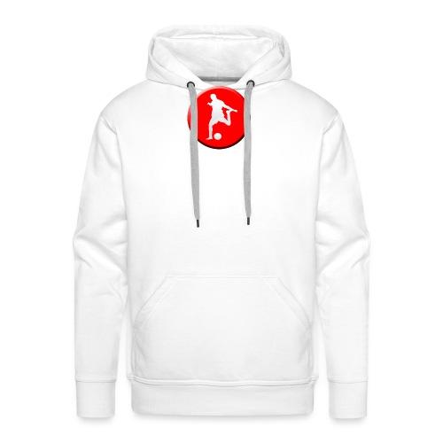 Camiseta de TU ESCUELA DE FUTBOL - Sudadera con capucha premium para hombre