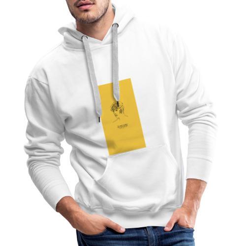 Yellow Boy Art - Men's Premium Hoodie