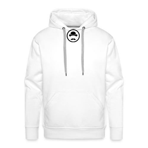 Bigote Logo La Trompa - Sudadera con capucha premium para hombre