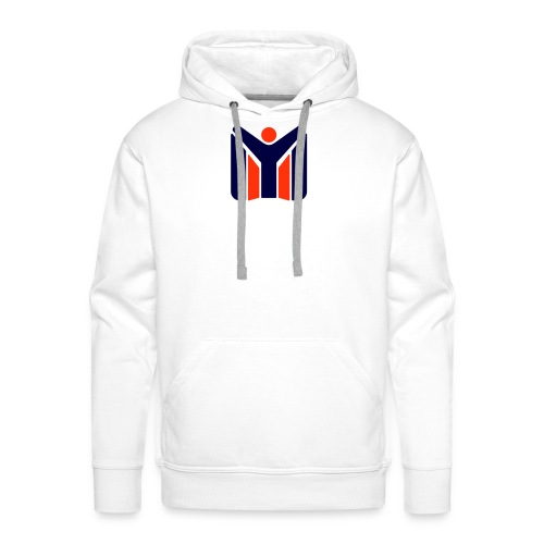 logo MYSC logo - Felpa con cappuccio premium da uomo