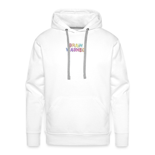 Brain Washed - Men's Premium Hoodie