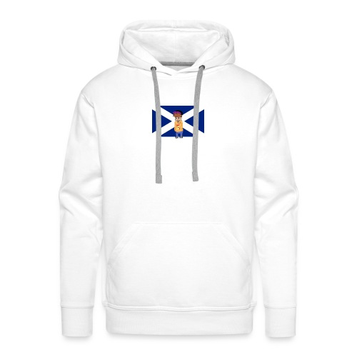 Flag of Scotland navy blue svg png - Men's Premium Hoodie