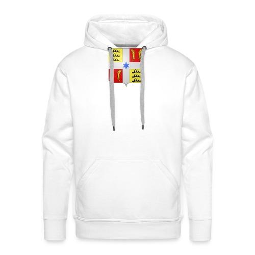 Blason Montbéliard - Sweat-shirt à capuche Premium pour hommes