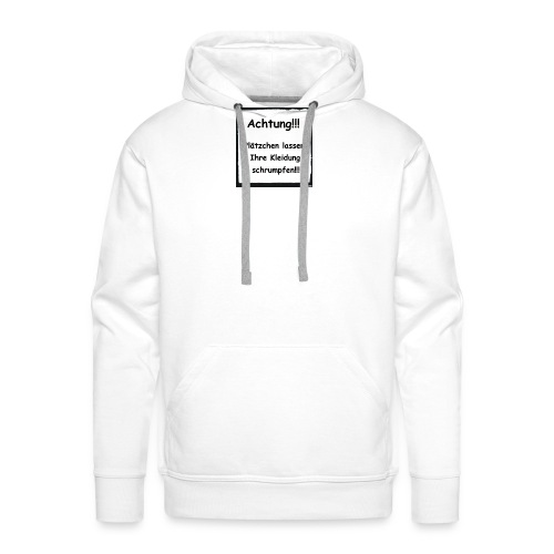 Achtung - Männer Premium Hoodie