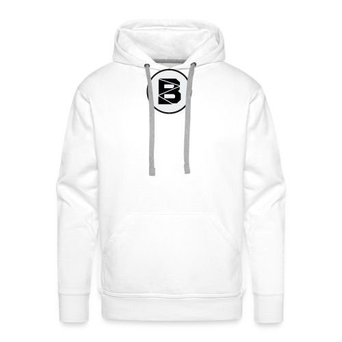 T-Shirt mit B Logo - Männer Premium Hoodie