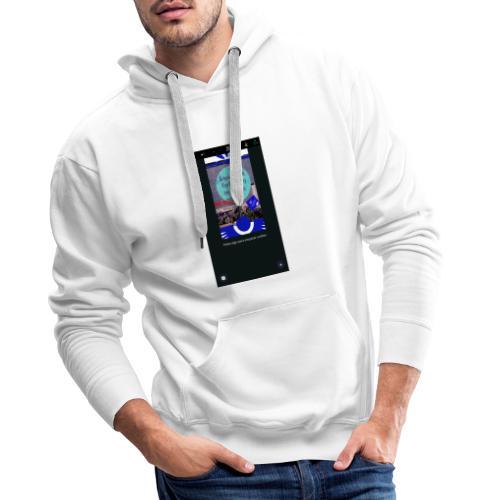Divertido diseño con cita bíblica - Sudadera con capucha premium para hombre