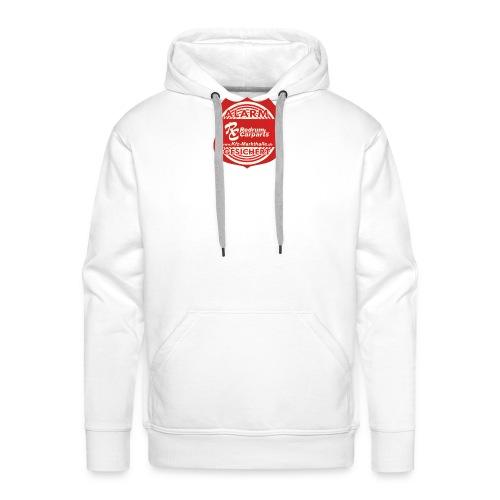 Alarmgesicher Textil - Männer Premium Hoodie