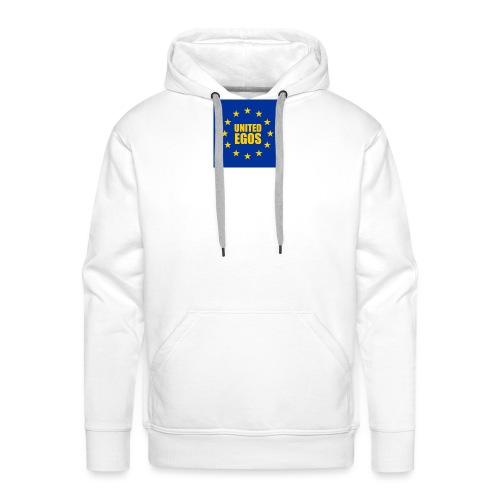 United Egos - Sudadera con capucha premium para hombre