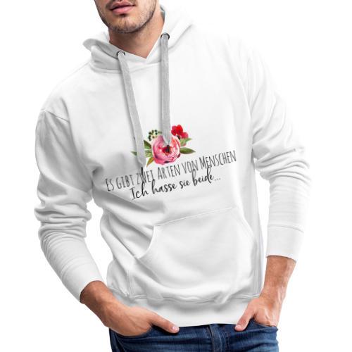 Menschliebe - Männer Premium Hoodie