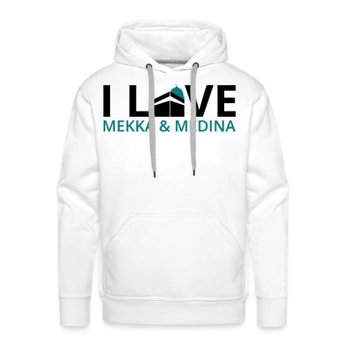 I love Mekka Medina - Männer Premium Hoodie