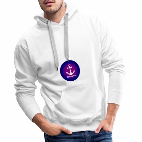 Ancre Arcachon - Sweat-shirt à capuche Premium pour hommes