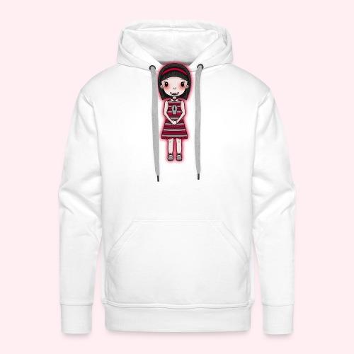 Magdalena rot/grau - Männer Premium Hoodie