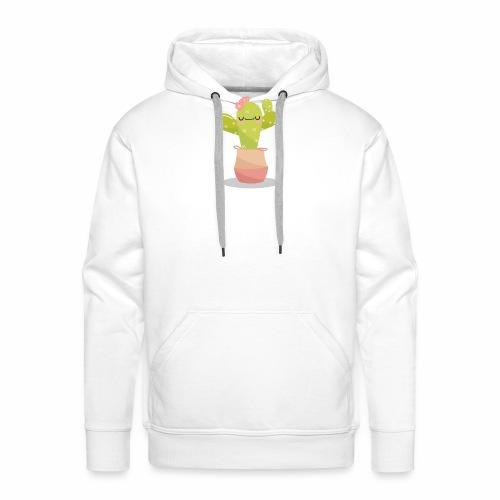 cactus 1 - Sudadera con capucha premium para hombre