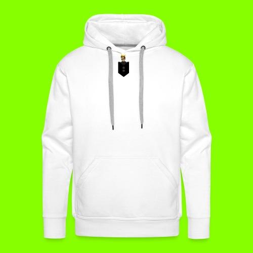 T-Shirt De Cor Dupla c/ Bolso - Men's Premium Hoodie