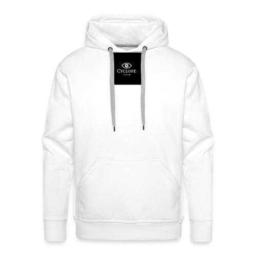 cyclope - Sweat-shirt à capuche Premium pour hommes