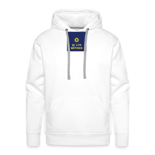 The Qi Life Method Sunlife Logo - Men's Premium Hoodie