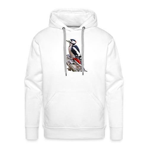 Spotted Woodpecker - Mannen Premium hoodie