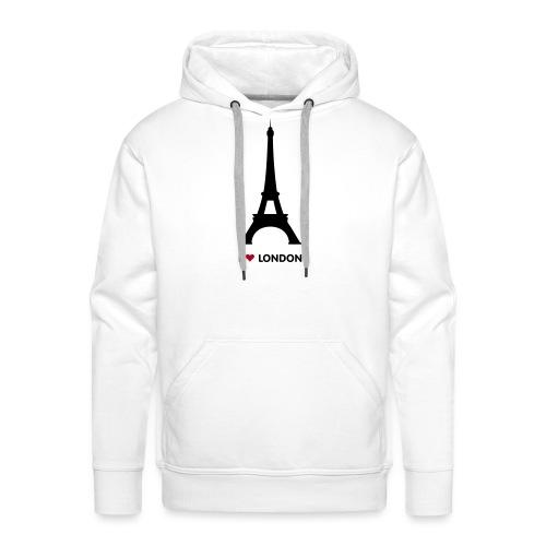 I love London - Mannen Premium hoodie