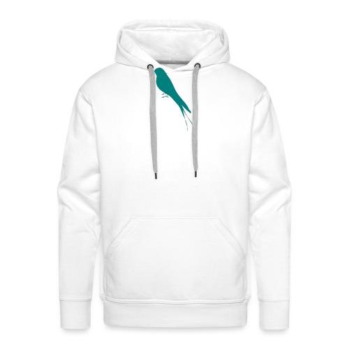Golondrina - Sudadera con capucha premium para hombre