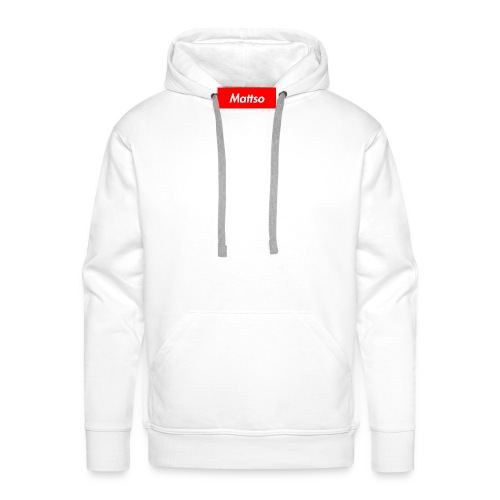 Mattso Merch to Flex - Men's Premium Hoodie