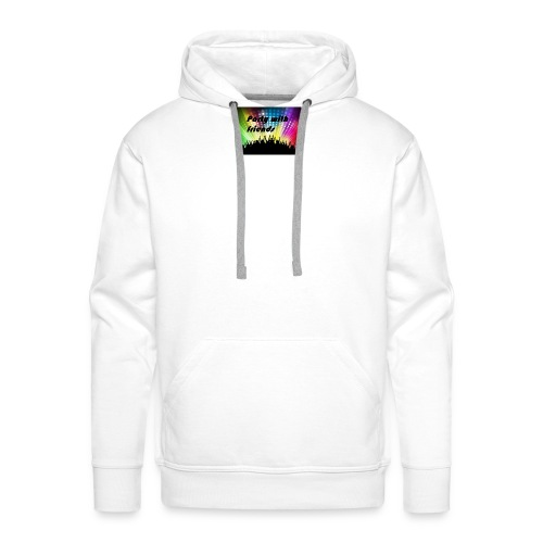 Party with friends - Männer Premium Hoodie