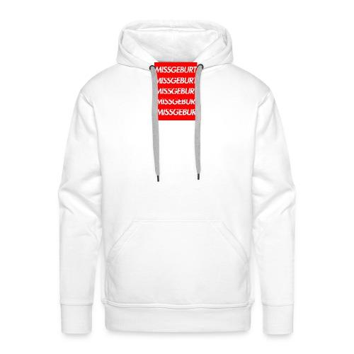 Missgeburt Shirt (Weiss) | Lucas - Männer Premium Hoodie