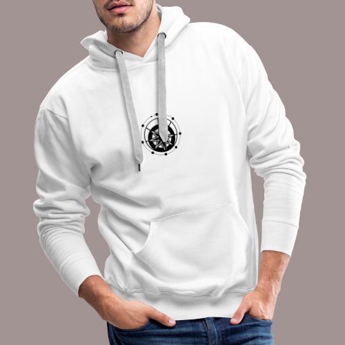 Etoile - Sweat-shirt à capuche Premium pour hommes