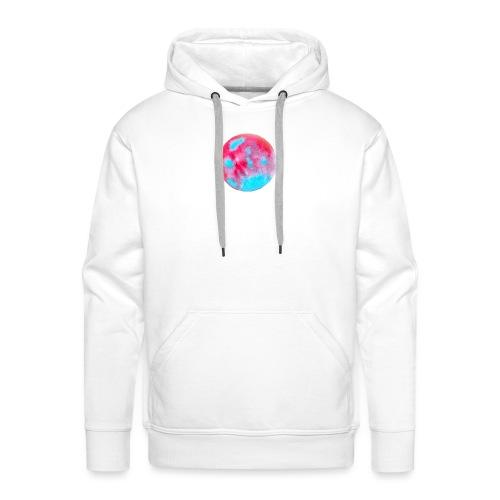 Kunstvolles kreisförmiges Design - Männer Premium Hoodie