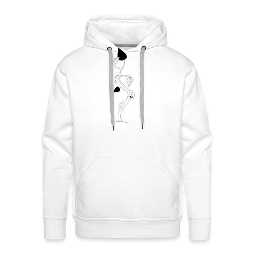 Lanterne chinoise minimaliste - Sweat-shirt à capuche Premium pour hommes
