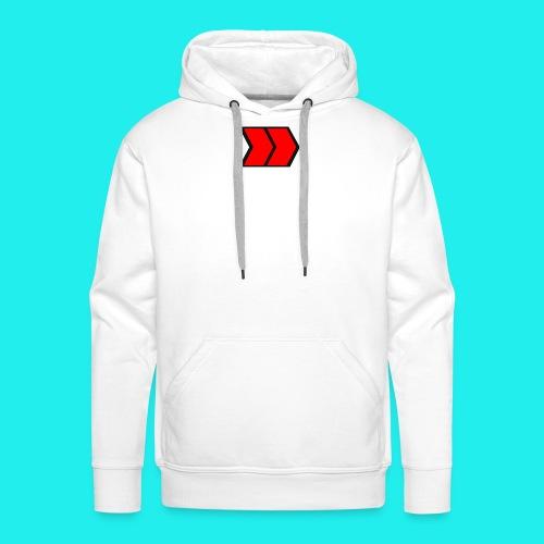 Tapis de souris (format paysage) - Sweat-shirt à capuche Premium pour hommes