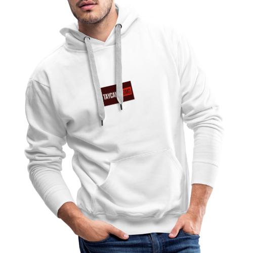 Taycanissimo logo v4 - Mannen Premium hoodie
