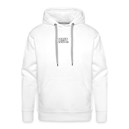 LEGIT. MOTIVE - Bluza męska Premium z kapturem