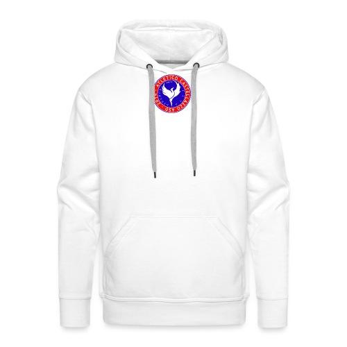 Logo Ufficiale Atletico Castellazzo - Felpa con cappuccio premium da uomo