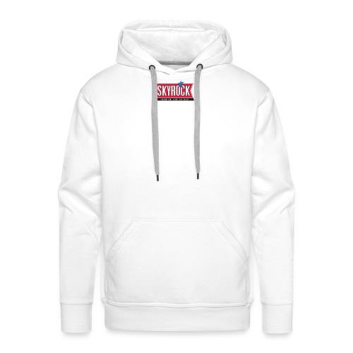 Skyrock - Sweat-shirt à capuche Premium pour hommes
