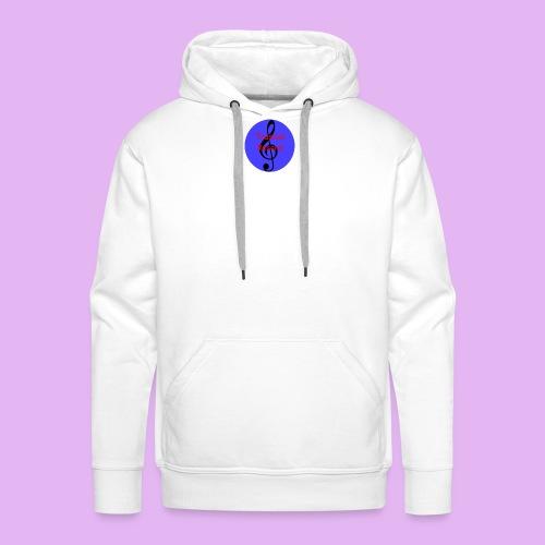 Trusical Record Logo - Men's Premium Hoodie
