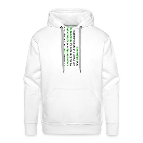 hattrickshirtekel - Männer Premium Hoodie
