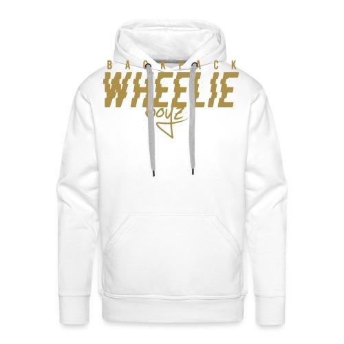 Wheelieboyz liten vit - Premiumluvtröja herr