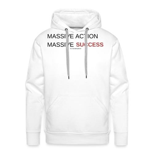 MASSIVE ACTION - Premiumluvtröja herr