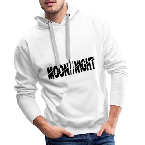 Moon//Night - Mannen Premium hoodie