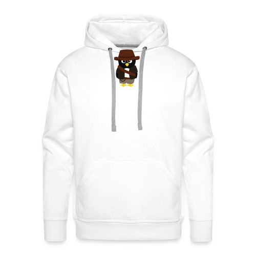 Pingouin Indiana - Sweat-shirt à capuche Premium pour hommes