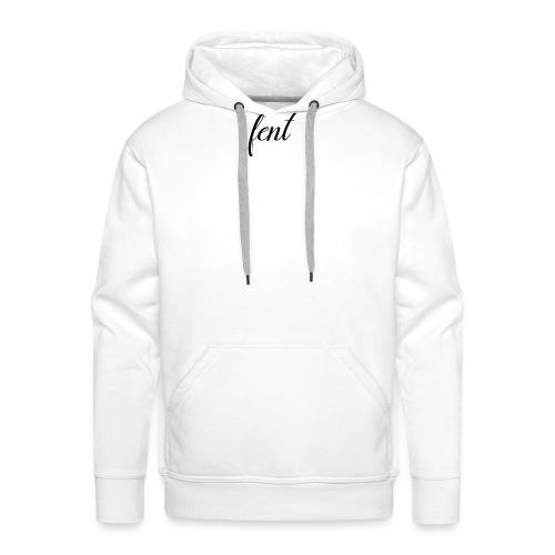 FENT grey t-shirt men - Mannen Premium hoodie