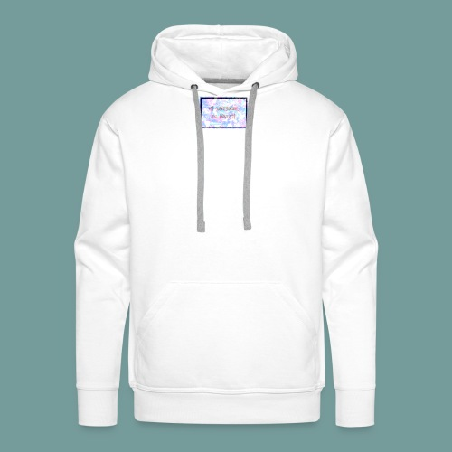 MY SUPERPOWER IS ANXIETY - Men's Premium Hoodie