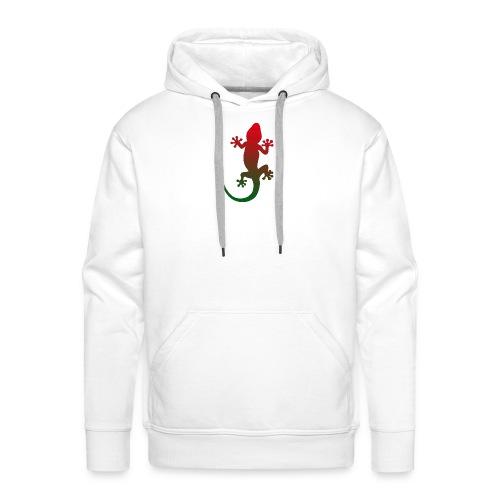 Gecko - rotgruen - Männer Premium Hoodie