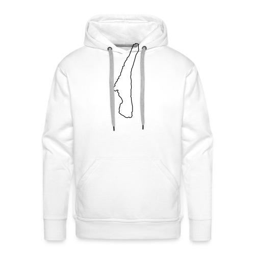 Starnberger See Umriss - Männer Premium Hoodie