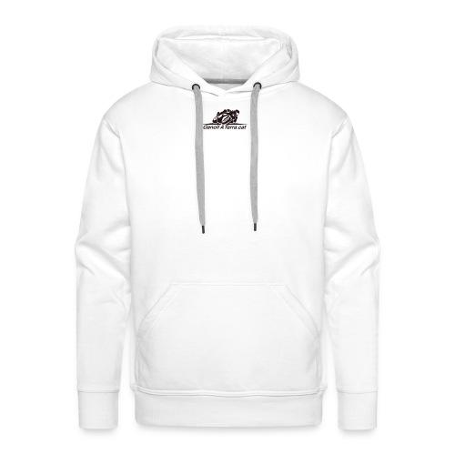 Logo-cuadrat-redone-png - Sudadera con capucha premium para hombre
