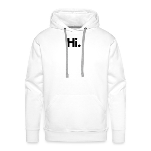 Social Fashion - 'Hi' - Men's Premium Hoodie